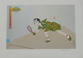 Tesumi Minoh, Racquetball, Japanese Traditional Costume, Sports