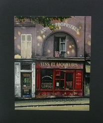 Thomas Pradzynski, Merchants, Liquor, Bar Art, Hotel Art, Parisian Art, Paris, Decor Art, Corporate Art, Restaurant Art