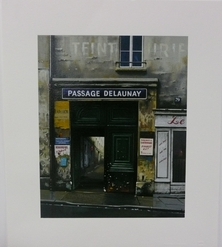 Thomas Pradzynsky, Passage Delaunay, Paris, Paris Streets, Paris Shops, Designer Art, Corporate Art, Restaurant Art