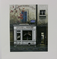 Thomas Pradzynski, Atelier, Paris, Paris Street Scenes, Corporate Art, Designer Art, Restaurant Art